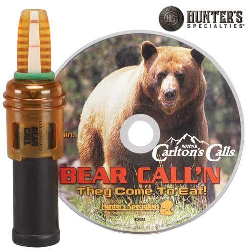 Appeau à ours et CD