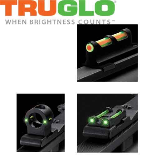Mire fibre optique Tru-Bead Turkey Universal Dual Color de Truglo
