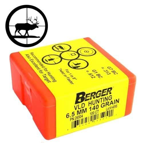 Boulets-30/.308-CAL.-VLD-175gr-Berger-Bullets