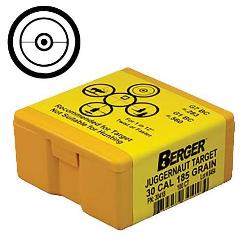 """Berger-Bullets-30/.308""""-CAL.Hybrid-200gr-Bullets"""