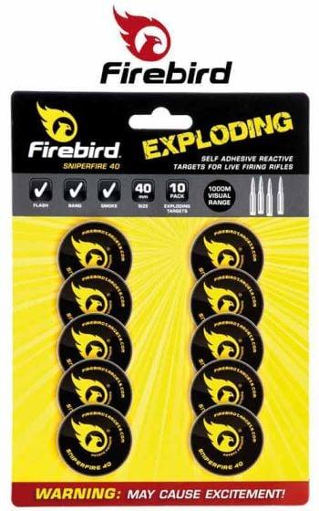 Cibles explosives SniperFire 40 de Firebird
