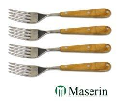 Maserin 4 Piece Fork Set