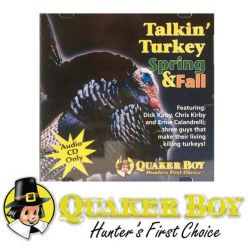 Quaker Boy Talkin'Turkey Spring & Fall CD