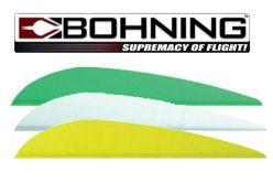 Bohning X-Vanes Parabolic 3'' pack of 12 Vanes
