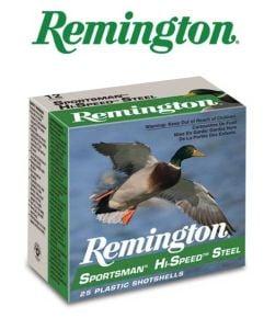 Munitions-Remington Sportsman Hi-Speed Steel 12 ga 3'' #1