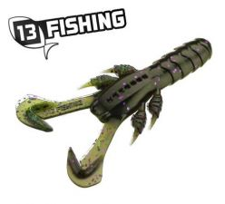 """13 Fishing 3"""" Ninja Tail Craw Mardi Craw"""