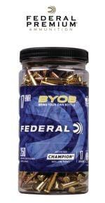 Federal-17 HMR-BYOB-Ammunitions