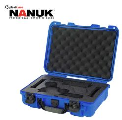 Nanuk-910-Glock-2-Up-Blue-Pistol-Case