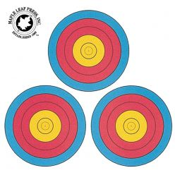 Mapleleaf-press-3-Spot-Triangular-Targets