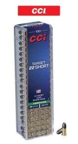 CCI-Target-22-Short-Ammunitions
