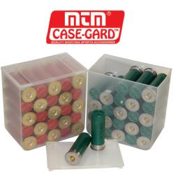 MTM Shell Stack 25 Rd. Compact Shotshell Storage Boxes (4 pack)