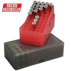 MTM E-50 Series Handgun Ammo Box (50 rounds)