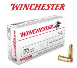 Winchester-25-Auto-Ammunitions