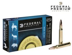 Federal Premium Power-Shok 30-06 Sprg 150 gr. Ammunitions