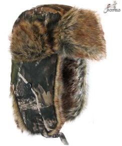 Jackfield Camouflage Fur Hat