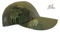 Jackfiled Hunting cap moose Embroidery