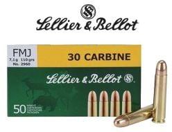Munitions-Sellier&Bellot-30-Carbine