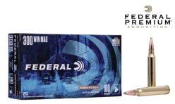 Federal Premium Power-Shok 300 Win Mag180 gr. Ammunitions