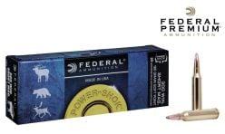 Federal Premium Power-Shok300 WSM 180 gr. Ammunitions