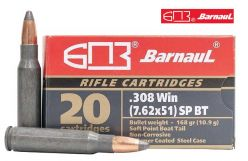 Barnaul-Soft-Point 308-Win-168-gr-Ammunitions