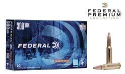 Federal Premium Power-Shok 308 Win 180 gr. Ammunitions