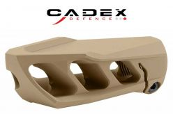 Cadex MX1 5/8-24 Tan Muzzle Brake