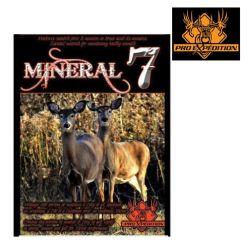 Suppléments minéraux Mineral 7 de ProXpédition