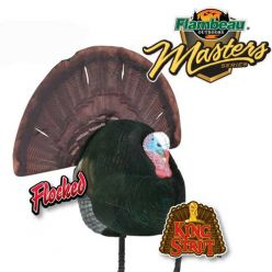 Flambeau Marter Series King Strut Flocked Decoy
