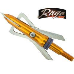Rage Crossbow 2 blades 100 Grain  Broadheads
