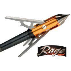 Pointes de chasse 3 Blade Chisel Tip X 100 gr. de Rage