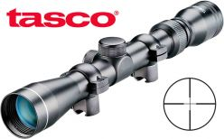 Lunette de visée Tasco 3-9x32 .22 avec anneaux