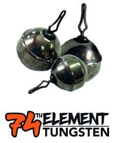 47th Element Tungsten Grand Slack Naturel Sinkers