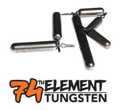 74th Element Tungsten Grand Slack Naturel Sinkers