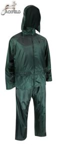 Polyester Rain Suit Jacket & Pants