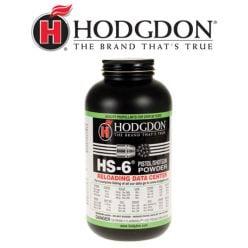 Poudre pour carabine et pistolet HS-6 d'Hodgdon