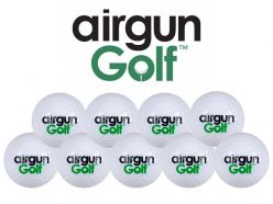 Airgun Golf Exploding Golf Ball Targets
