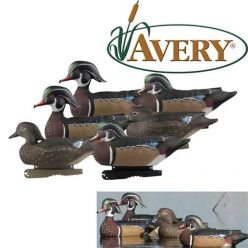 Avery-Pro-Grade-pack-6-Wood-Ducks-Decoys