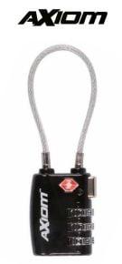 Cadenas-câble-combinaison-Axiom-XCL9