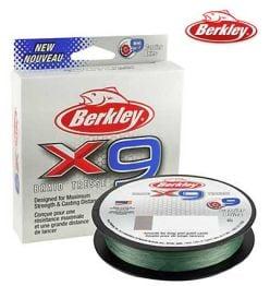 Berkley x9 Braid 164 yd 8 lb Line