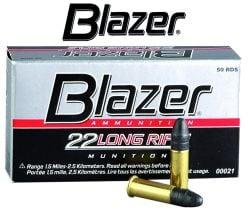 Blazer 22 Long Rifle Munitions