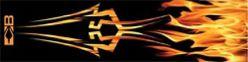 "Bohning 4"" Standard Tribal Flame Wrap"