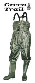 Bottes culotte pour la pêche de Green Trail