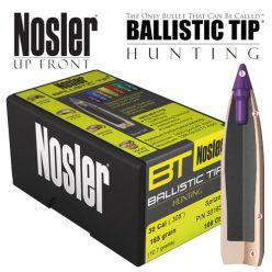 Boulets 30 Cal/150 gr de Nosler