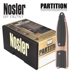 Nosler-Partition-7mm-160-gr-Bullet