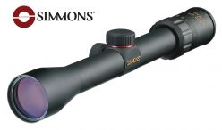 Simmons .22 Mag 3-9x32mm Riflescope with Rings