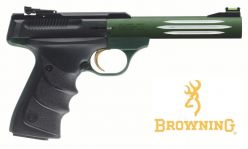 buck mark lite green urx pistol