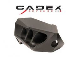 Cadex MX1 Micro 1/2-28 Black Muzzle Brake
