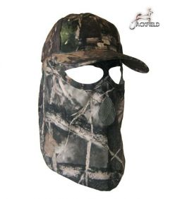 Jackfield Camouflage Cap with Mask