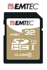 Emtec SDHC Class 10 32 GB Memory Card