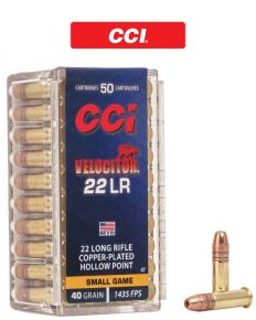 CCI Velocitor HP 22 LR